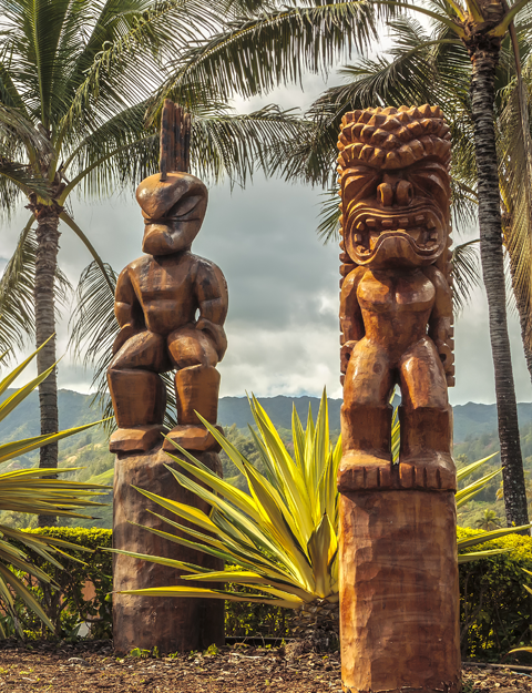 Hawaiian Totems